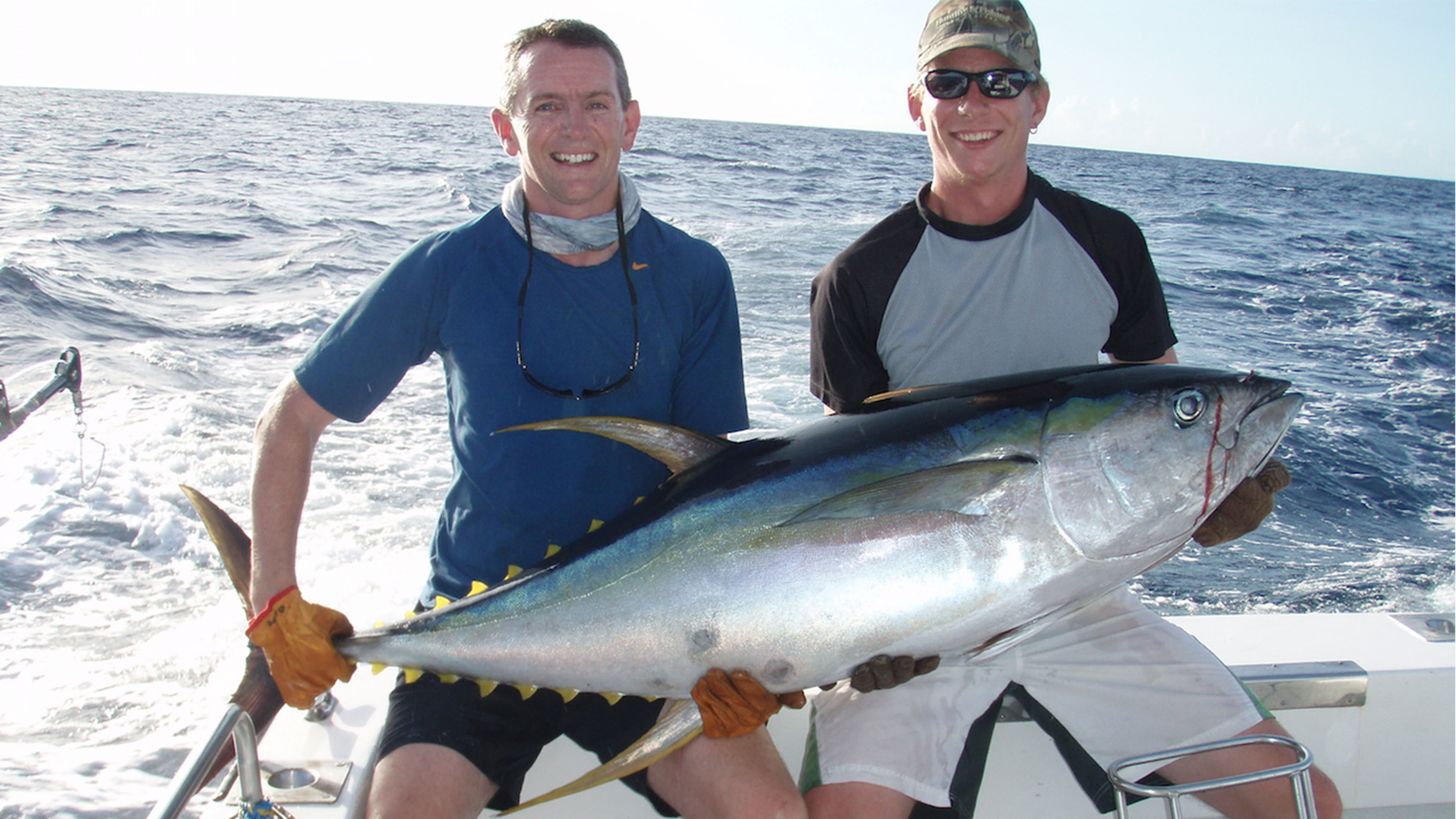 Fish for Blue Marlin, Sailfish, mahimahi,Yellowfin Tuna with KIWI MAGIC – based in Vava'u 12 months of the year.